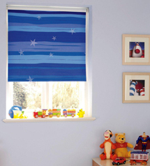 Kids bedroom blinds